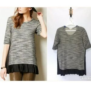Clu + Willoughby Anthropologie Inkstick Tunic L
